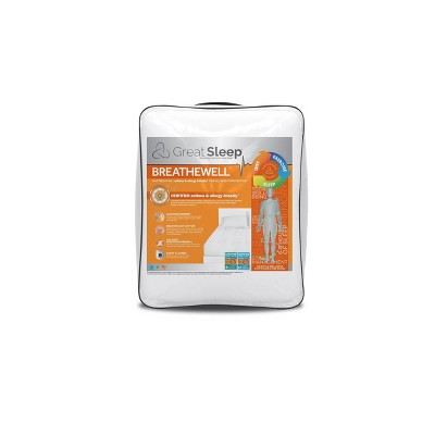 Breathewell AAFA Mattress Pad - Great Sleep