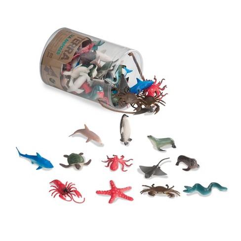 Terra – Miniature Animal Toys in Tube (60pc) – Sea Animals - image 1 of 4