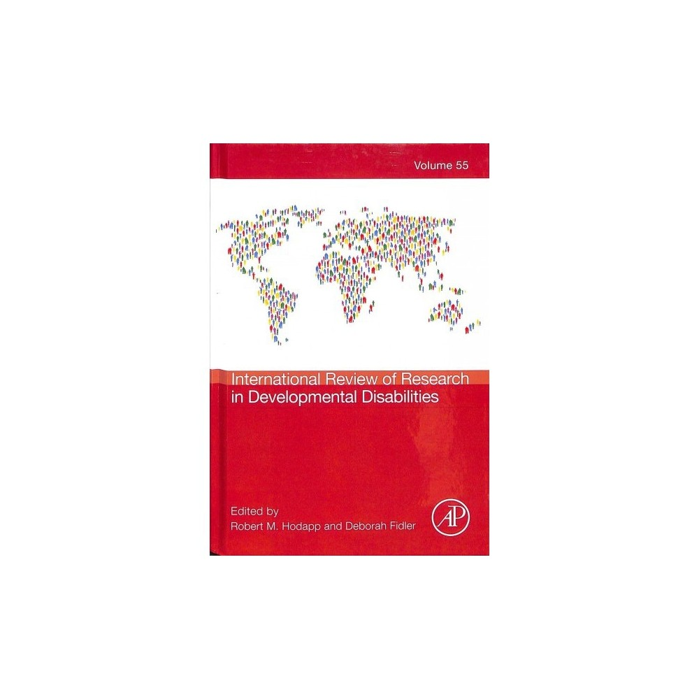 International Review of Research in Developmental Disabilities - 1 (Hardcover)