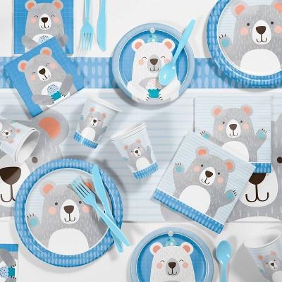 Bear Print Birthday Party Kit
