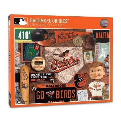 MLB Baltimore Orioles 500pcs Throwback Puzzle