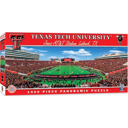NCAA Texas Tech Red Raiders Pano Puzzle 1000pc - image 1 of 2