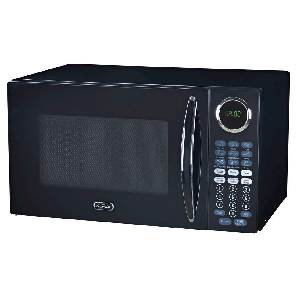 Sunbeam 0.9 cu ft 900W Microwave Oven Black - SGB8901