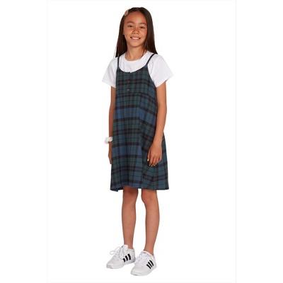 Volcom Girls Getting Rad Plaid Dress