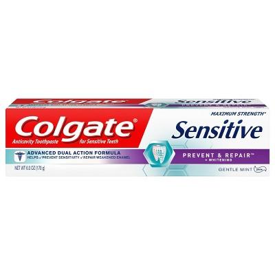 Toothpaste: Colgate Sensitive