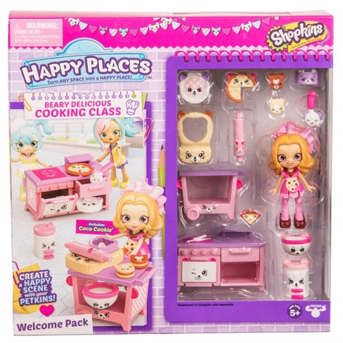 Happy Places™ Shopkins Welcome Pack - Berry Delicious Cooking Class - image 1 of 5