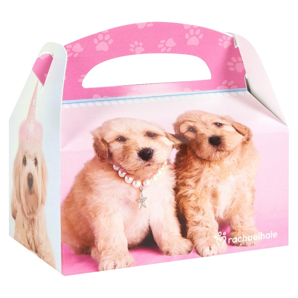8 ct Glamour Dogs Favor Boxes, Multi-Colored