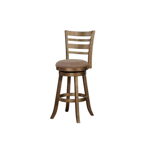 Awesome Southern Wood Swivel Bar Stool Brown Linon Pdpeps Interior Chair Design Pdpepsorg
