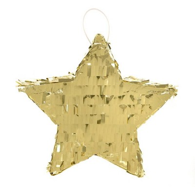 "5.75"" Star Mini Piñata Party Decoration Navy - Spritz™"
