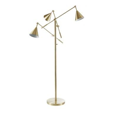 """65"""" Sullivan Floor Lamp (Includes LED Light Bulb) Gold"""