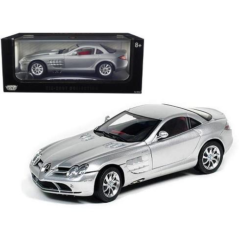 Mercedes Mclaren Slr Silver 1 12 Diecast Model Car Target