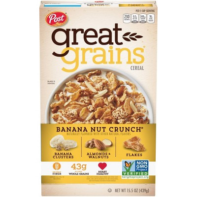 Great Grains Banana Nut Crunch Breakfast Cereal - 15.5oz - Post