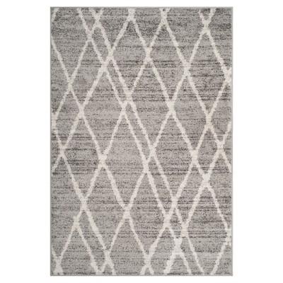 "Adirondack Rug - Ivory/Silver - (5'1""x7'6"")- Safavieh"