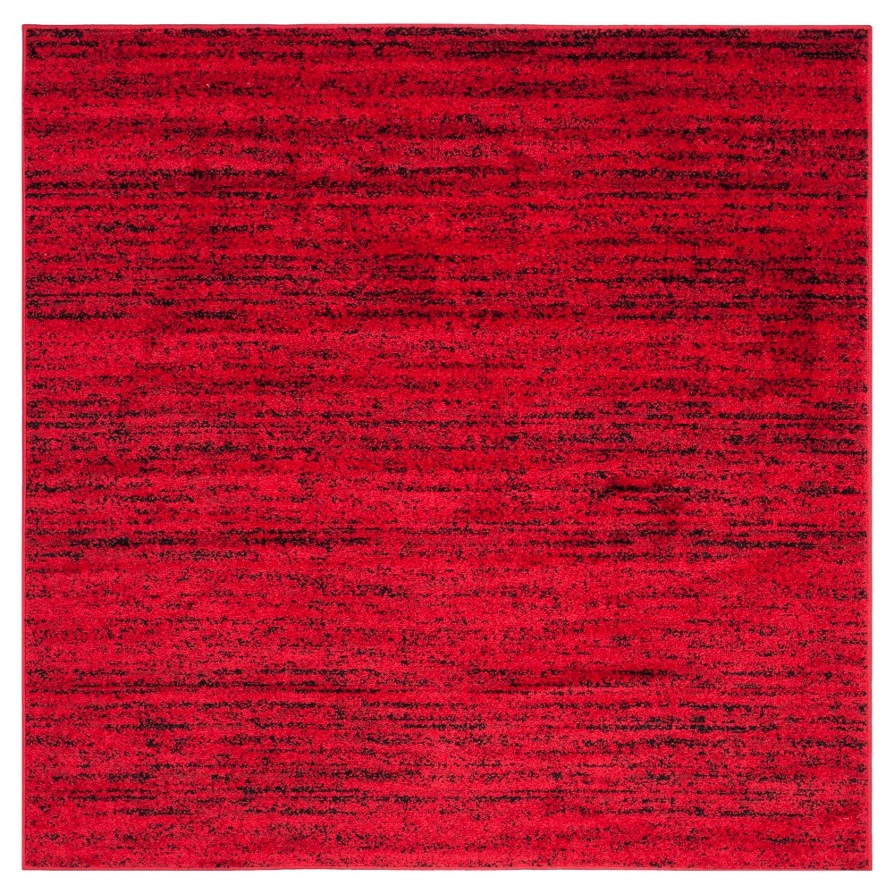 Adirondack Rug - Red/Black - (6'x6' Square) - Safavieh