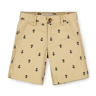 Hope & Henry Boys' Uniform Chino Short, Infant