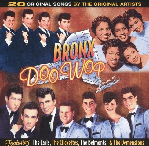 Various - Bronx doo wop:Vol 1 (CD) - image 1 of 1