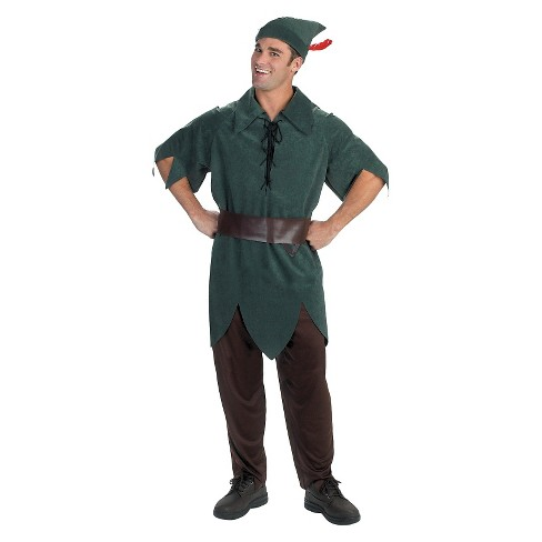 Disney Peter Pan Men's Adult Costume - One Size Fits Most - image 1 of 1