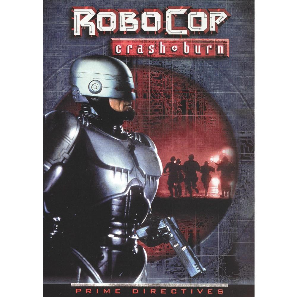 Robocop 4:Crash & Burn (Dvd)