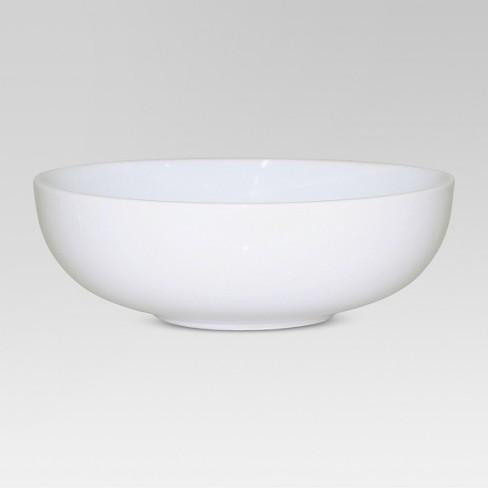 48oz Porcelain Serving Bowl White - Threshold™ - image 1 of 3