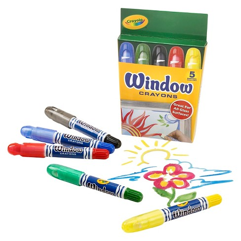 Crayola® Window Crayons 5ct : Target