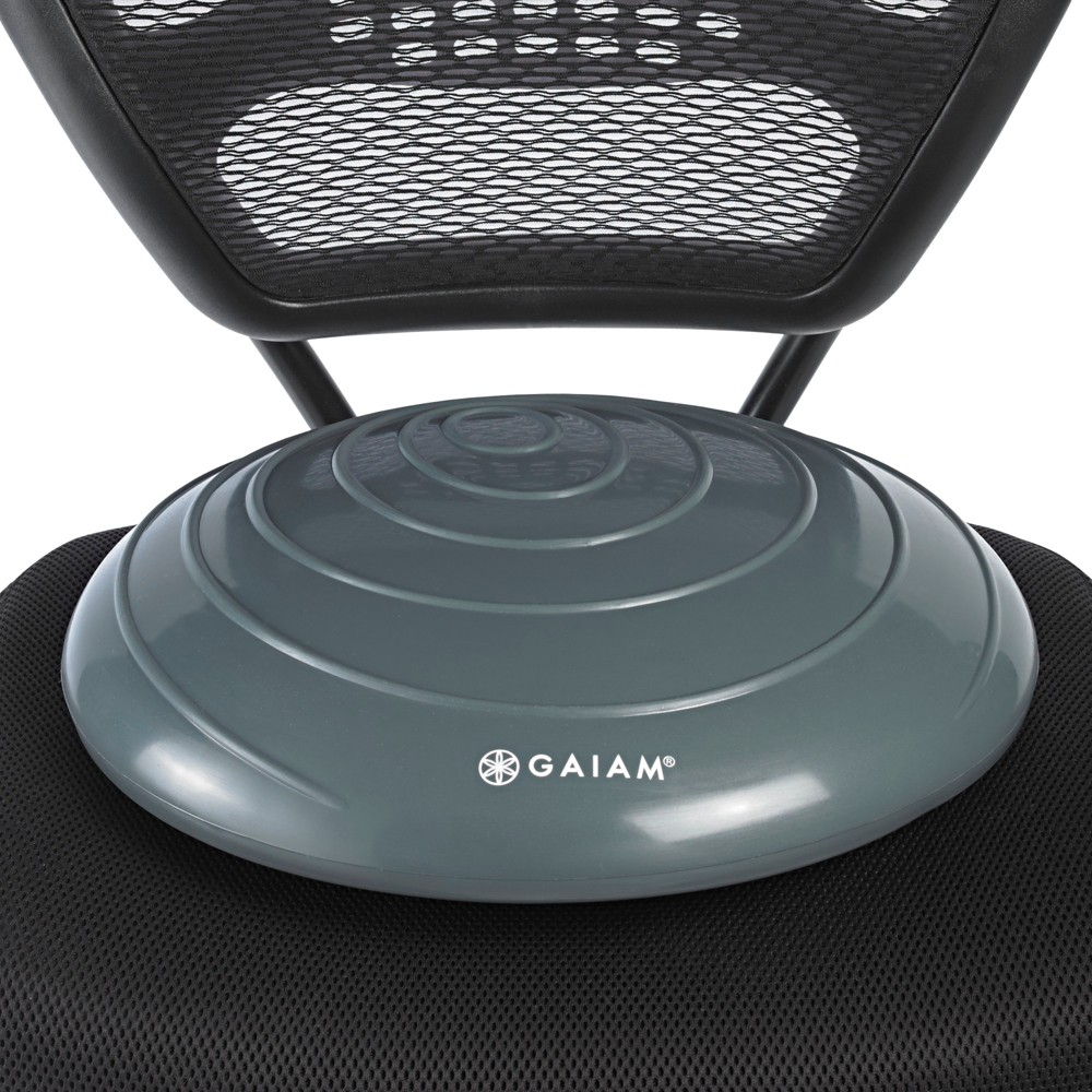 Gaiam Balance Disc - Gray Gaiam Balance Disc - Gray