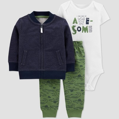 Baby Boys' Alligator Top & Bottom Set - Just One You® made by carter's Green 6M
