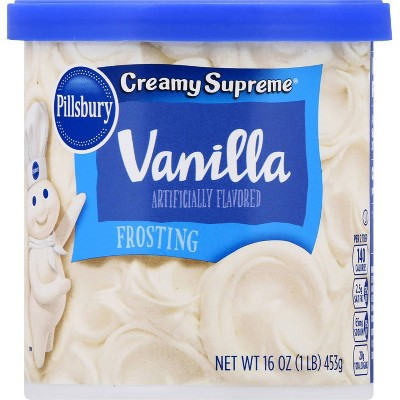 Pillsbury Creamy Supreme Vanilla Frosting - 16oz
