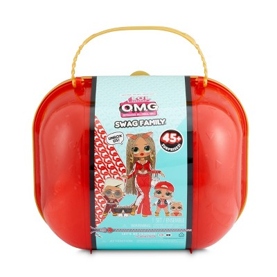 L.O.L. Surprise! O.M.G. Swag Family – Limited Edition Fashion Doll, Dolls and Pet with 45+ Surprises