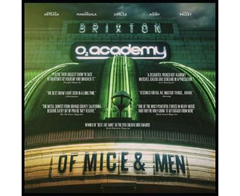 Of mice and men - Live at brixton (CD) - image 1 of 1