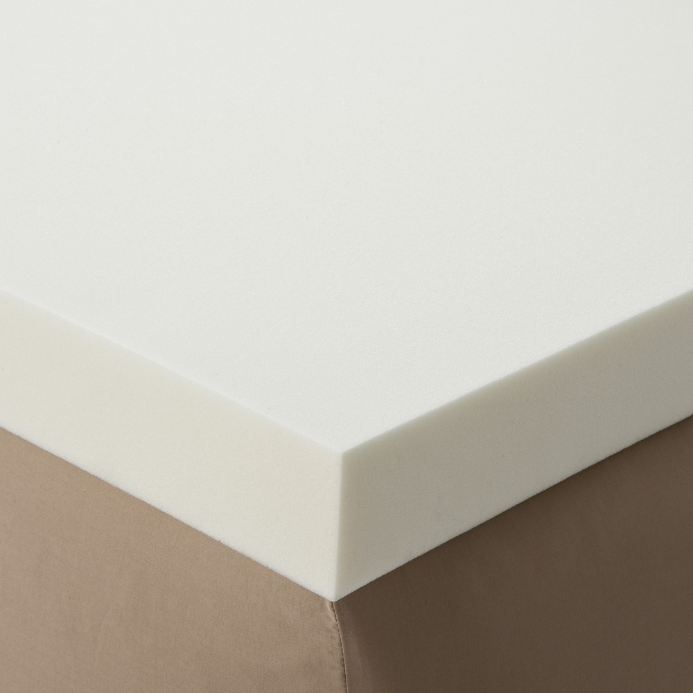 Enhance 3 Memory Foam Topper - White (Queen)