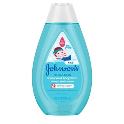 Johnson's Kids Clean and Fresh Shampoo and Wash - 13.6 fl oz