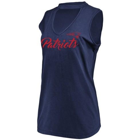 c0f189345 NFL New England Patriots Women s Constant Effort Sleeveless T-Shirt ...