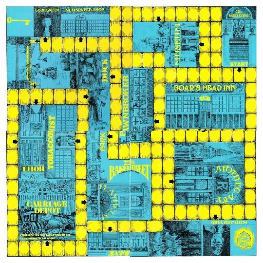 Sherlock Holmes 221B Baker Street Board Game image number null