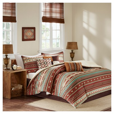 Spice Duncan Printed Comforter Set (King)7pc