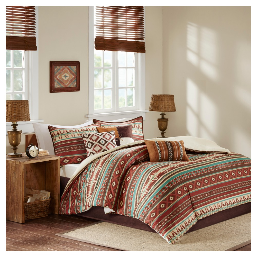 Spice Duncan Printed Comforter Set (King) 7pc