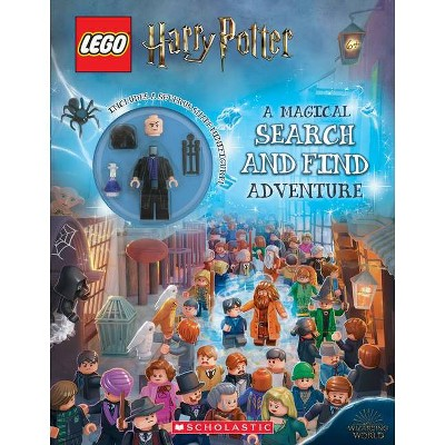 Lego Harry Potter: A Magical Search and Find Adventure - by Ameet Studio (Paperback)