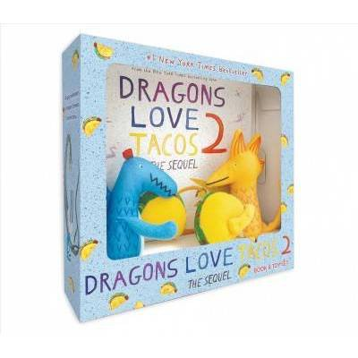 Dragons Love Tacos 2 Book and Toy Set - by  Adam Rubin (Mixed Media Product)