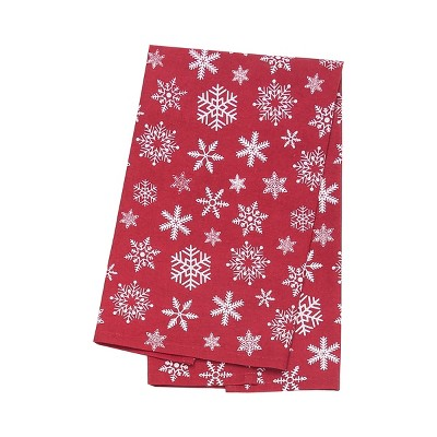 C&F Home Snow Flurry Feed Sack Woven Kitchen Towel