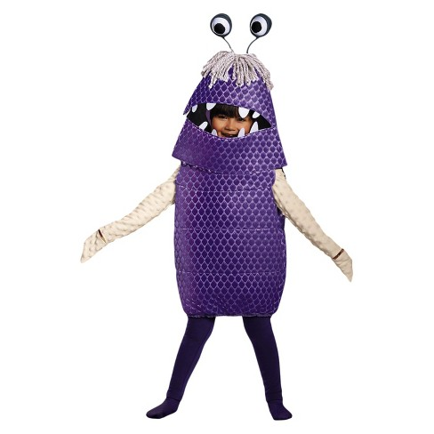 Girls Monsters, Inc. Boo Deluxe Costume S(4-6) - image 1 of 1