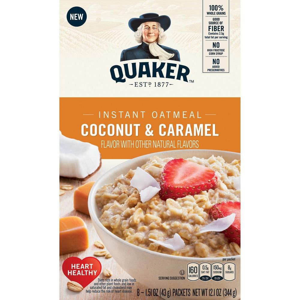 Quaker Caramel Coconut - 12oz