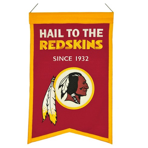 Washington Redskins Winning Streak Franchise Banner - image 1 of 1