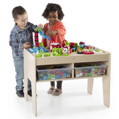 Guidecraft IO Blocks Center - 458 Building Pieces - STEM Educational and Learning Toy for Toddlers