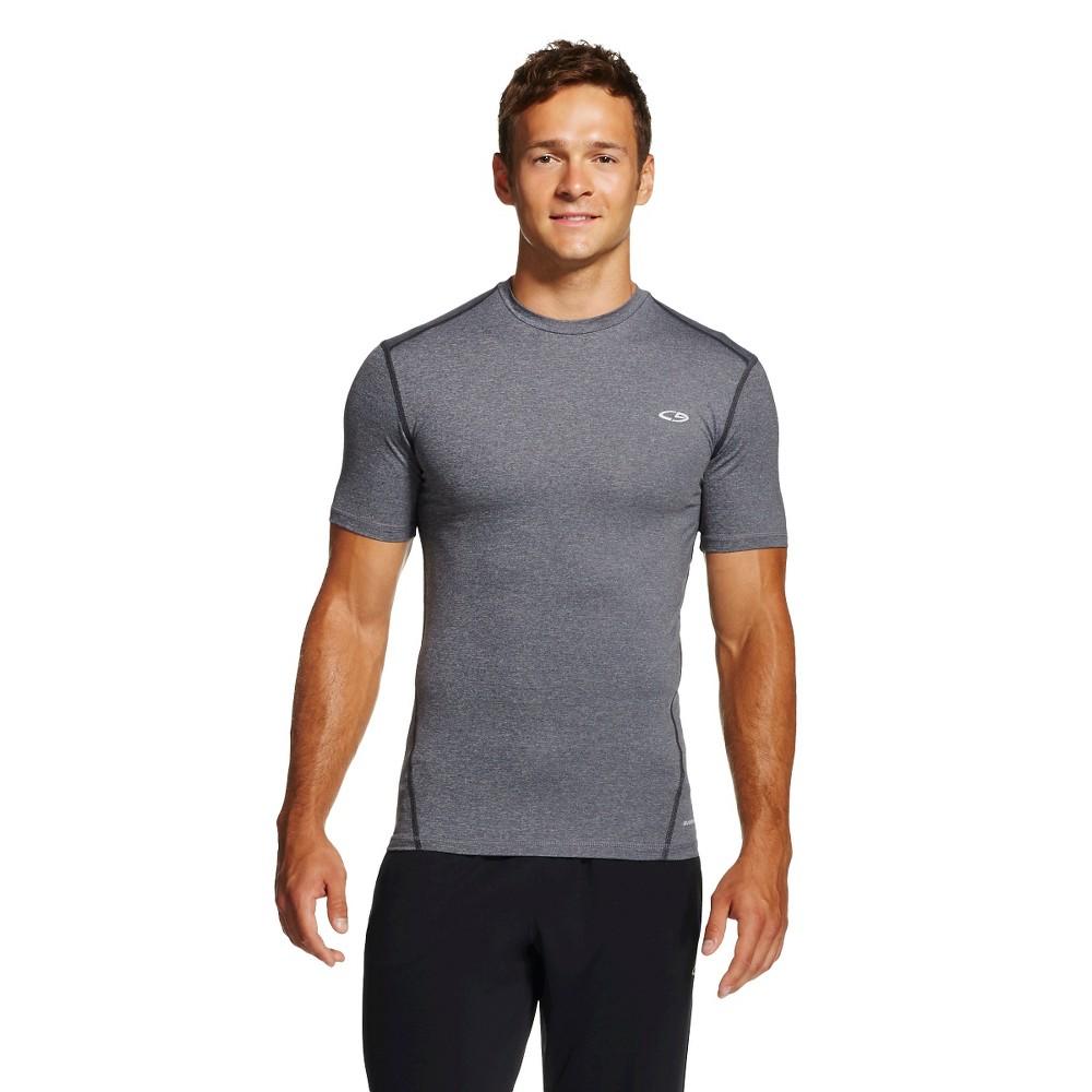 Men S Powercore Compression Shirt Gray Xxl C9 Champion 174