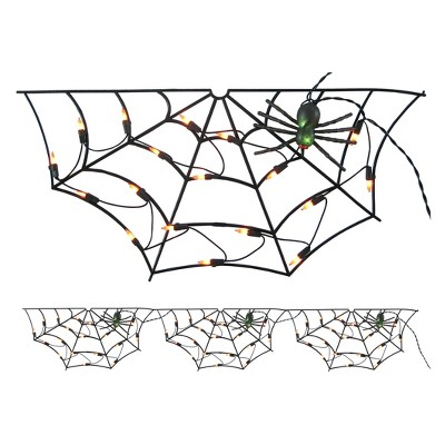 Halloween Incandescent Spider Web - Hyde and Eek! Boutique™