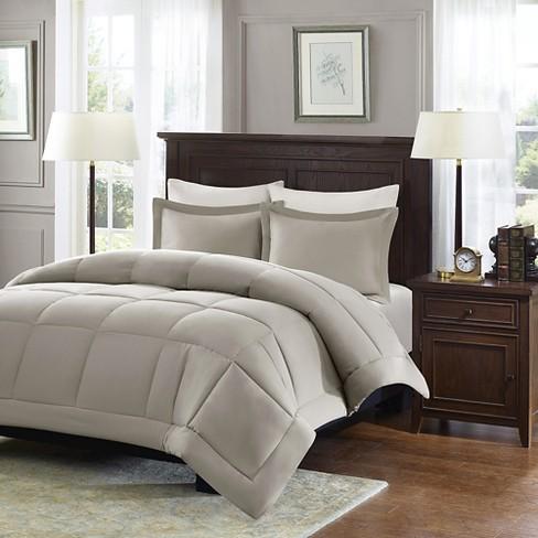 Belford Microcell Down Alternative Comforter Set Target