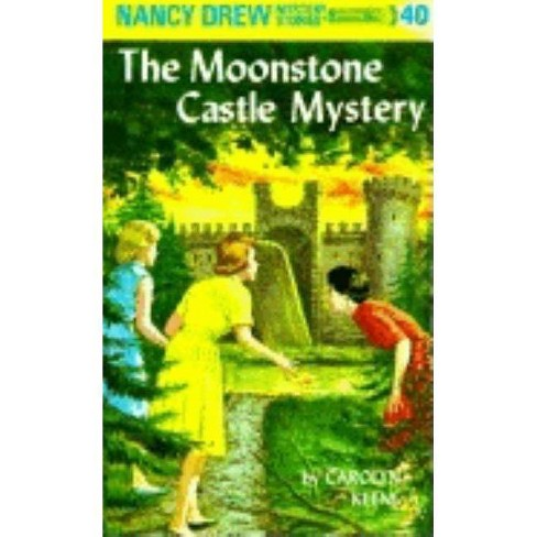 The Moonstone Castle Mystery - (Nancy Drew (Hardcover)) by  Carolyn Keene (Hardcover) - image 1 of 1