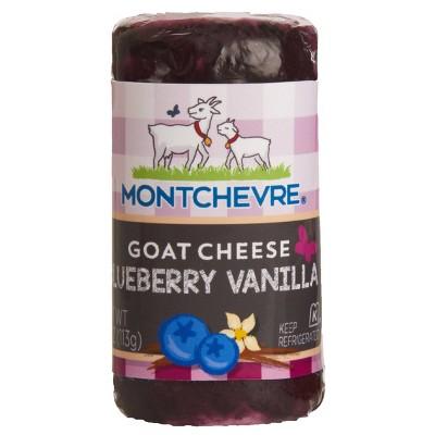 Montchevre Blueberry Vanilla Goat Cheese - 4oz