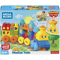 Mega Bloks Building Basics ABC Musical Train