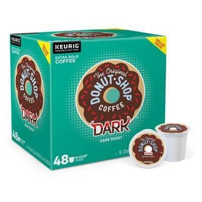 The Original Donut Shop Dark Roast Coffee - Keurig K-Cups - 48ct