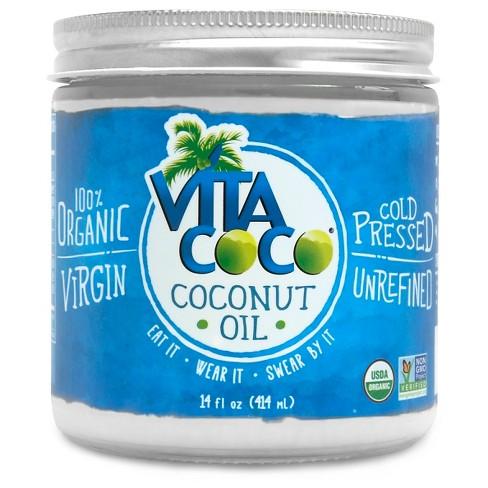 Vita Coco Organic Non-GMO Coconut Oil 14fl oz